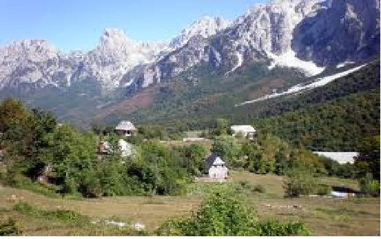 جبال الالب الالبانية